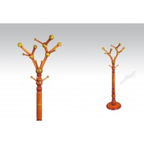 Uhome Design Standing Wood Coat, Hat, Jacket and Dress Rack/ Tree Rack- CH001