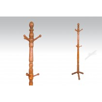 Uhome Design Standing Wood Coat, Hat, Jacket and Dress Rack/ Tree Rack-CH016