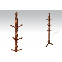Uhome Design Standing Wood Coat, Hat, Jacket and Dress Rack/ Tree Rack- CH017
