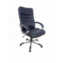 Office, Executive, Leader Chair With Bounded Leather And Adjustable Height-10709