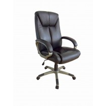 Office, Executive, Leader Chair With Bounded Leather And Adjustable Height-10765