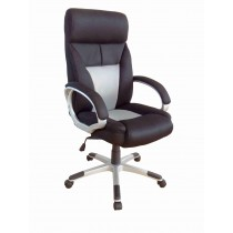 Office, Executive, Leader Chair With Bounded Leather And Adjustable Height-10716